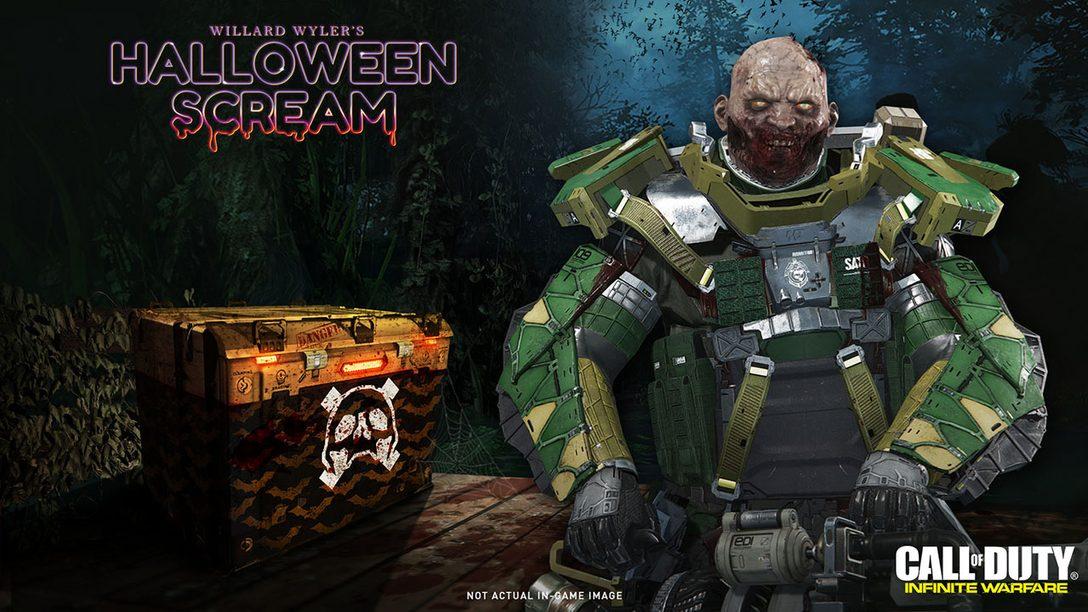 Halloween Scream de Call of Duty: Infinite Warfare Começa Hoje