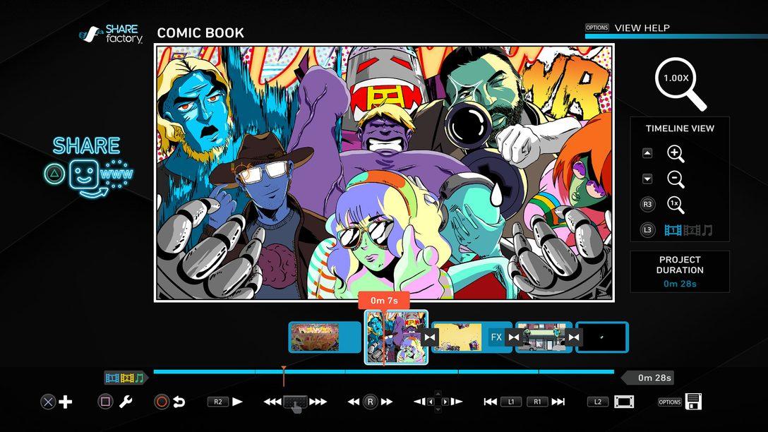 Atualização Sharefactory 3.00: Novos Temas, Efeitos de Câmera, Animações e Mais.