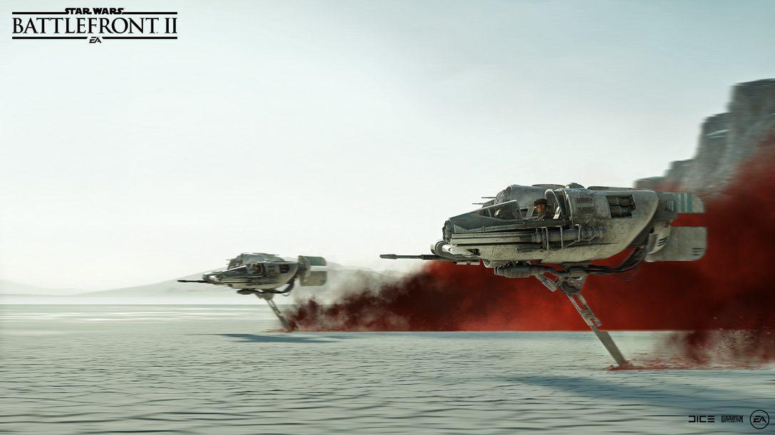 Trazendo Star Wars: Os Último Jedi à Star Wars Battlefront II