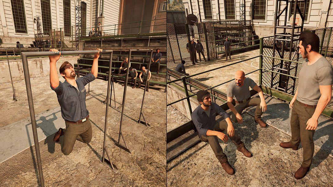 A Way Out Chega ao PS4 em 23 de Março, Coop Online Jogável com Uma Cópia do Jogo