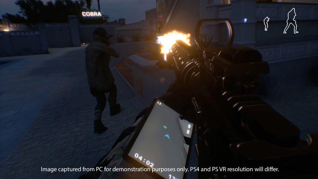 Firewall Zero Hour Traz FPS Multiplayer Tático em Times para PS VR