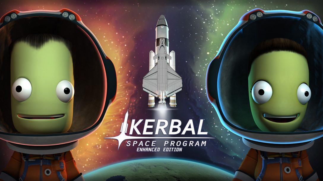 Kerbal Space Program Enhanced Edition Chega ao PS4 Dia 16 de Janeiro
