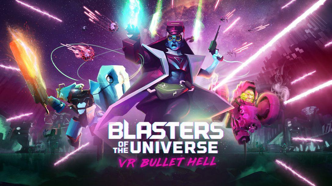 Blasters of the Universe Faz Chover Balas no PlayStation VR em 27 de Fevereiro