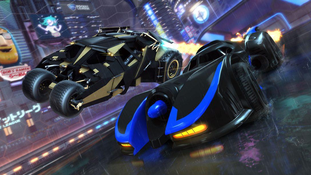 DC Super Heroes, Novo DLC de Rocket League, Chega em 5 de Março
