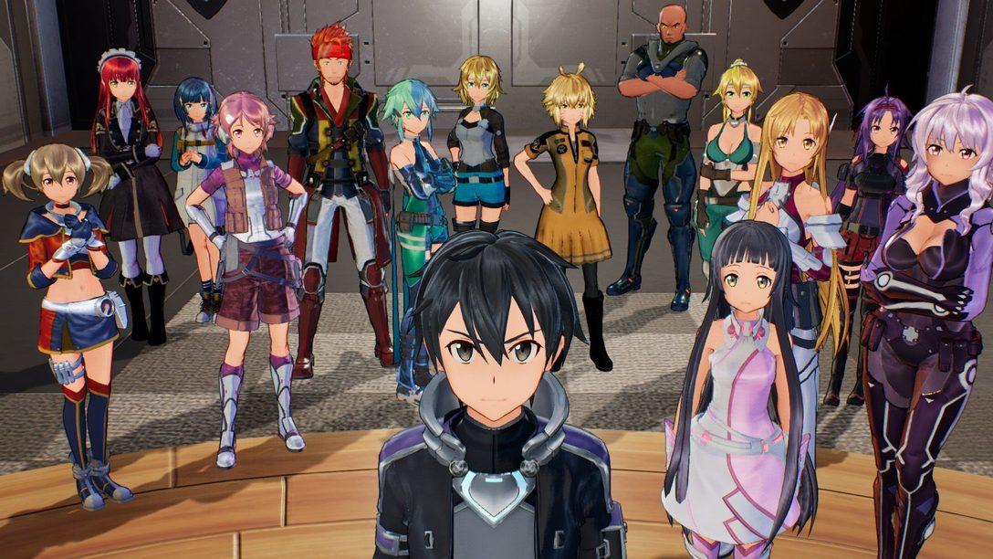 Sword Art Online: Fatal Bullet Chega dia 23 de Fevereiro