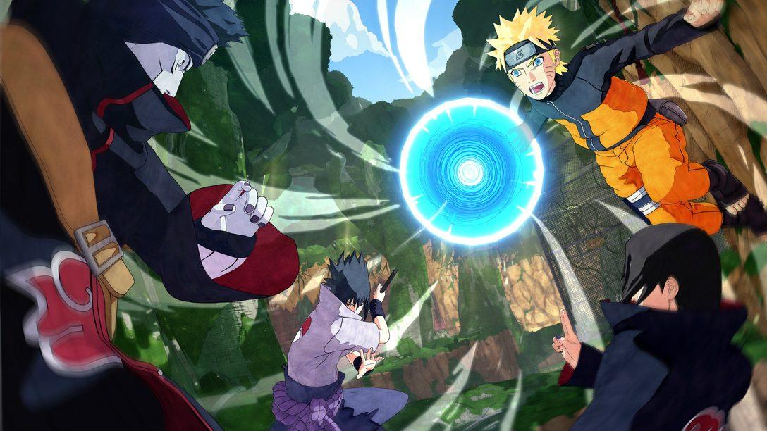 Open Beta de Naruto to Boruto Shinobi Striker Começa Esta Semana no PS4
