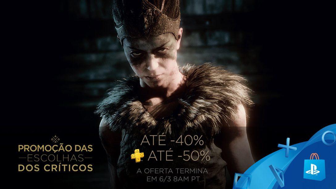 Títulos Aclamados pela Crítica com até 40% de Desconto na PS Store!
