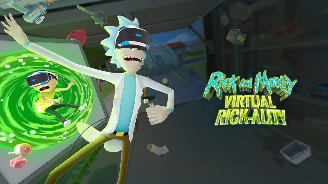 Rick and Morty: Virtual Rick-ality Disponível em 10 de Abril