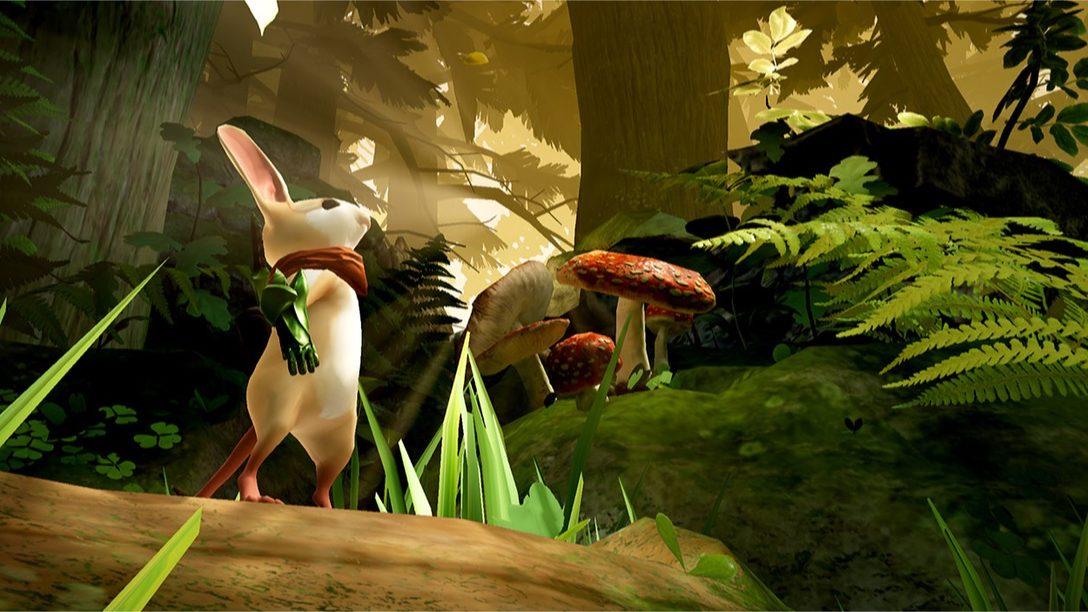 A incrível complexidade do épico de fantasia de PS VR em miniatura: Moss