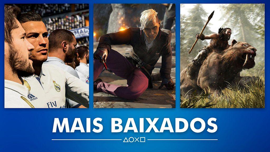 Os Mais Baixados da PS Store Durante Fevereiro
