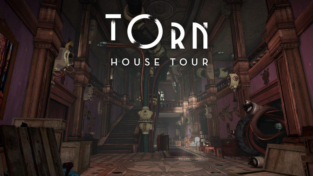 Faça um Tour Virtual da Mansão de Torn, um Jogo Sci-Fi de Mistério Chegando Este Ano para PS VR