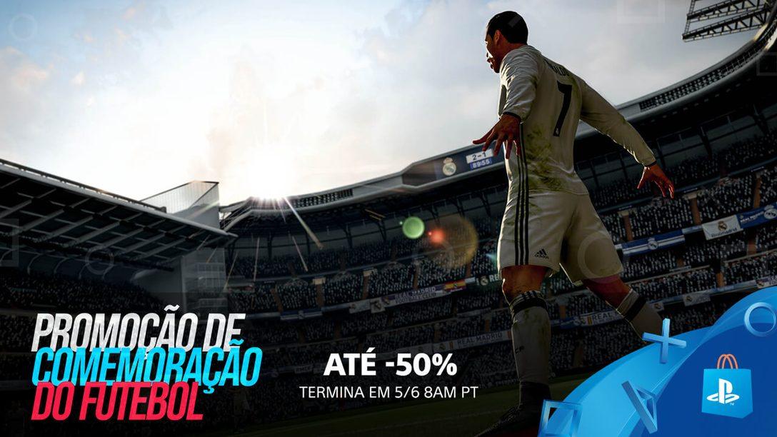 Economize Até 50% na Promoção de Comemoração do Futebol da PS Store