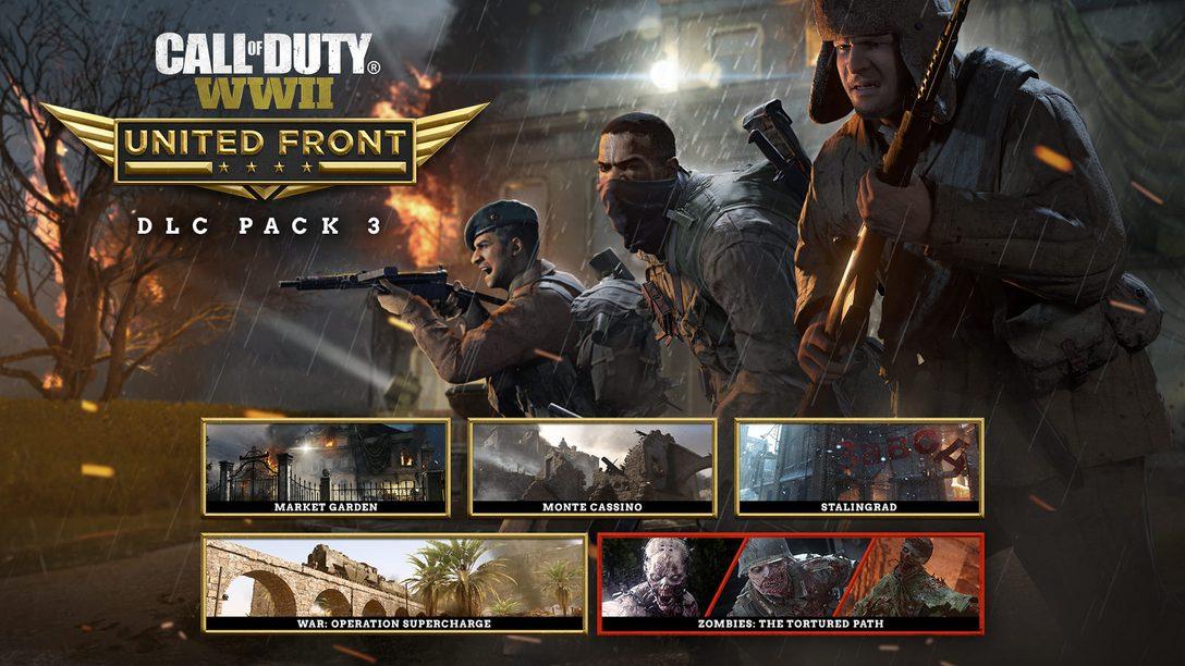 Anunciando Call of Duty: United Front – o Terceiro DLC Pack de Call of Duty: WWII