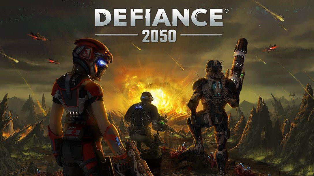 Defiance 2050 já Disponível para Founders