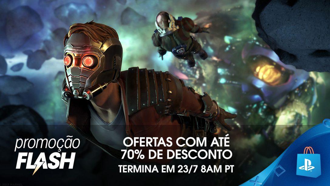 Promoção Flash: Até 70% de Desconto na PS Store