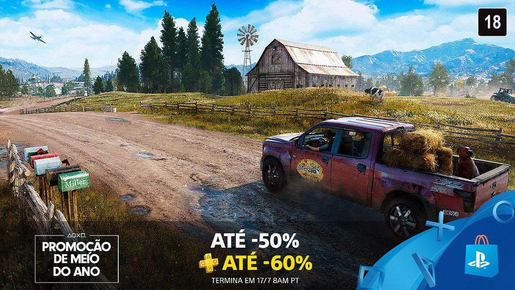 Promoção de Meio do Ano da PS Store: 750+ Games Com Até 50% de Desconto