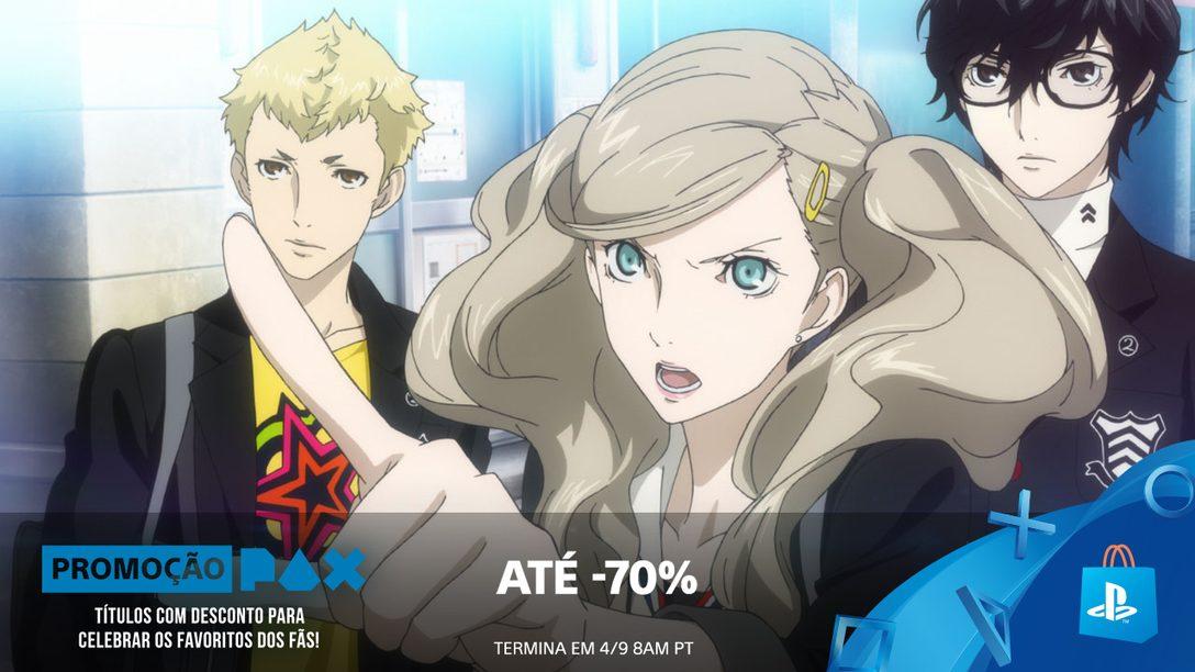 Promoção PAX! Até 70% de Desconto na PlayStation Store