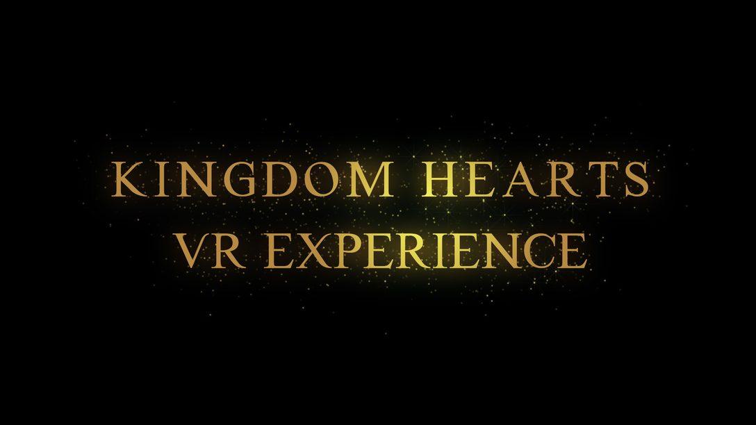 Kingdom Hearts VR Experience Chega para PS VR Gratuitamente este Ano