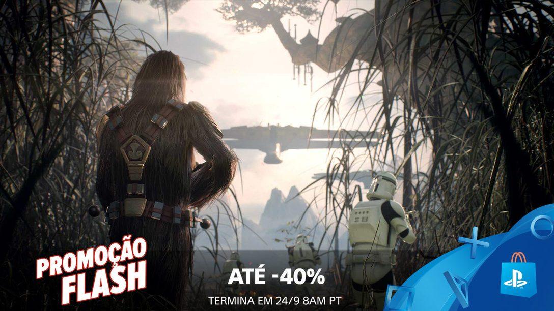 Promoção Flash! Economize até 40% Esse Fim de Semana na PS Store