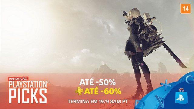 Promoção PlayStation Picks na PS Store
