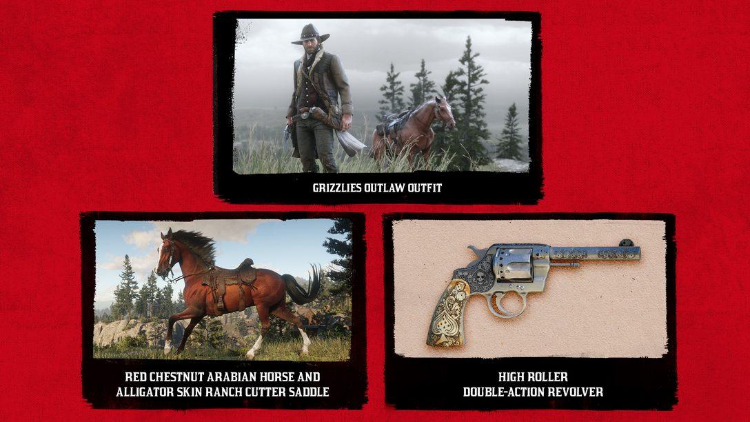 Red Dead Redemption 2: Conteúdo de Acesso Antecipado PS4 Revelado