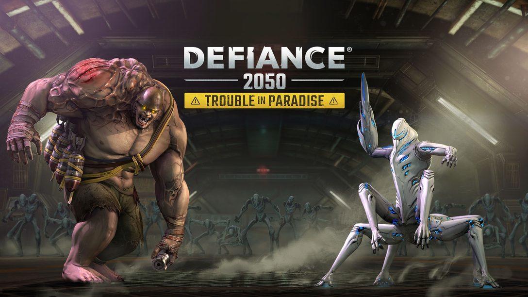 "Defiance 2050 Recebe Atualização ""Trouble in Paradise"" Hoje"