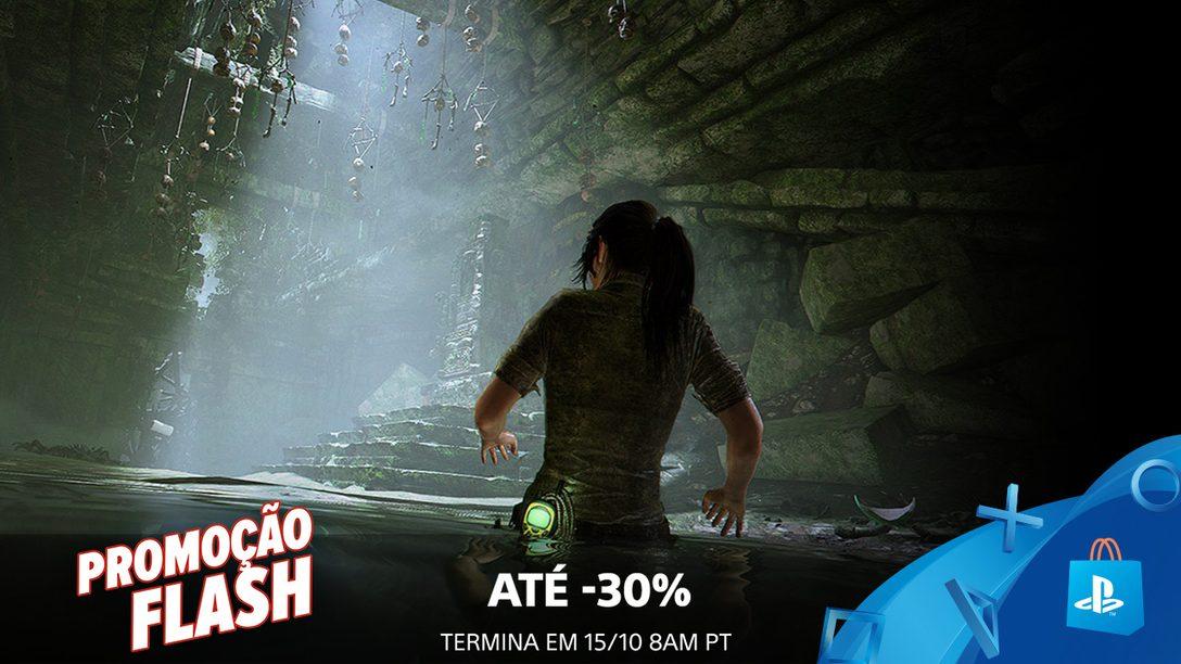 Promoção Flash! Até 30% de Desconto este Fim de Semana