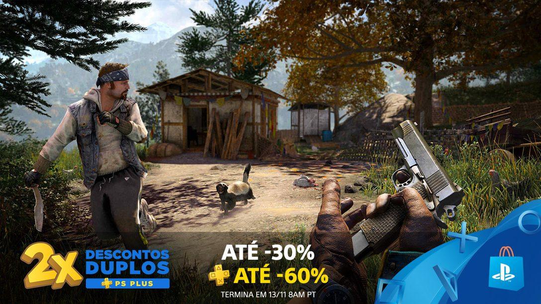 A Promoção Descontos Duplos PS Plus Começa Hoje na PlayStation Store