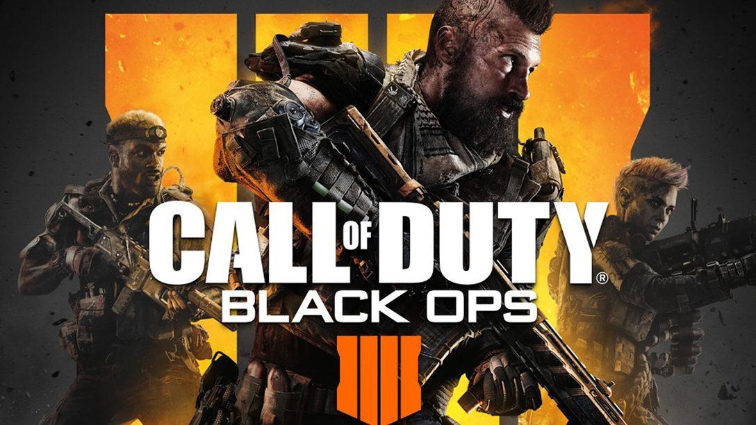 Call of Duty: Black Ops 4 Chegou — Jogue o Conteúdo Novo Primeiro no PS4