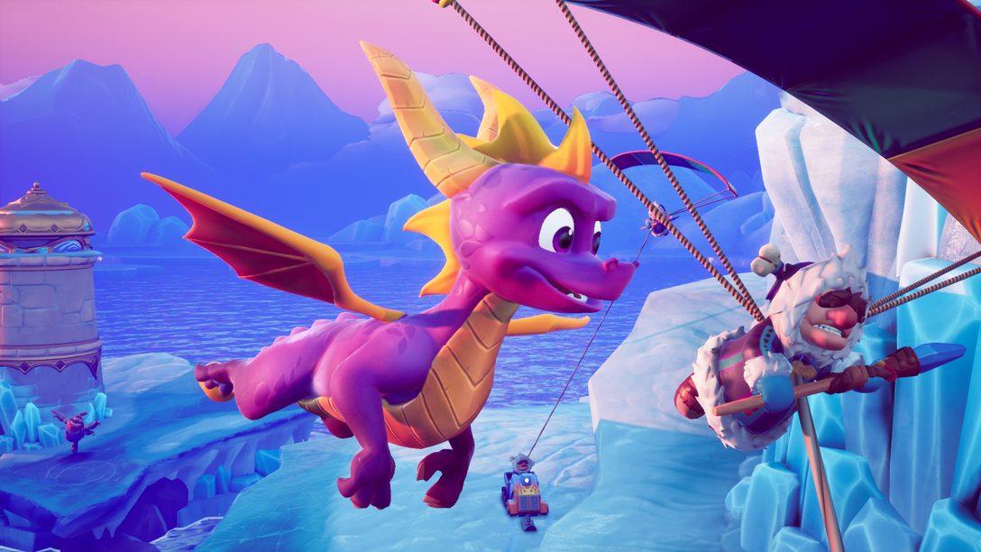 Reacendendo Spyro: Como a Toys For Bob Recriou uma Lenda