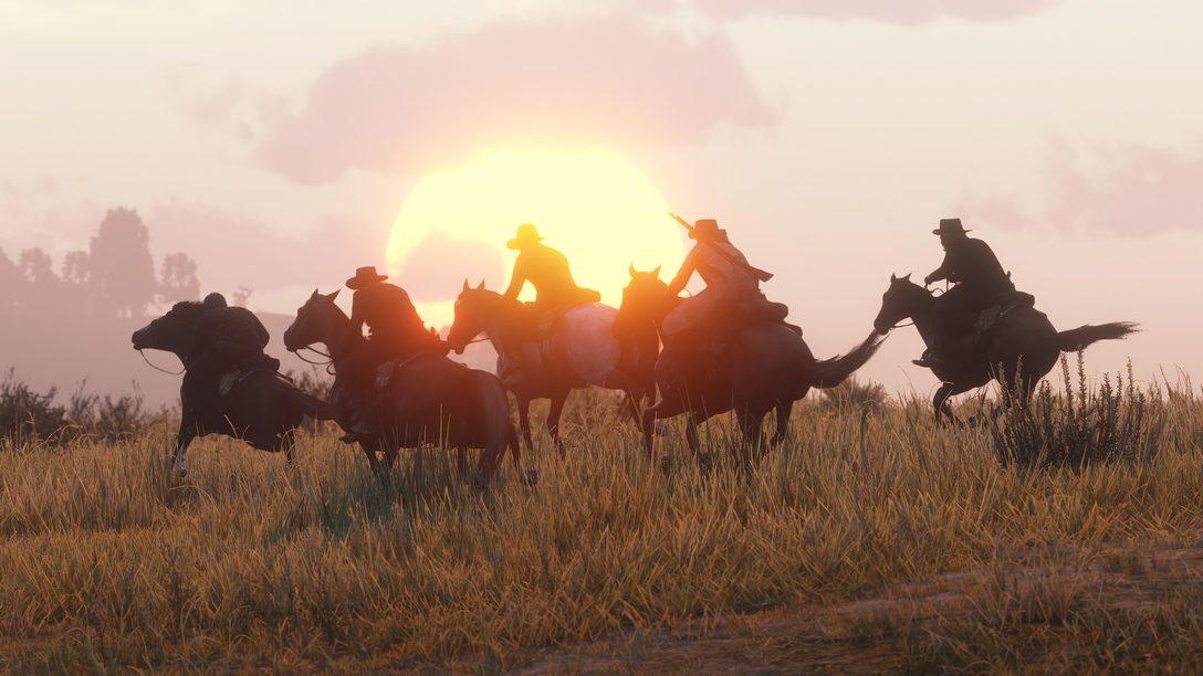 O Beta de Red Dead Online está Disponível