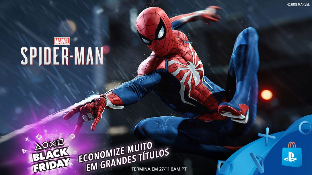 Promoção Black Friday na PlayStation Store