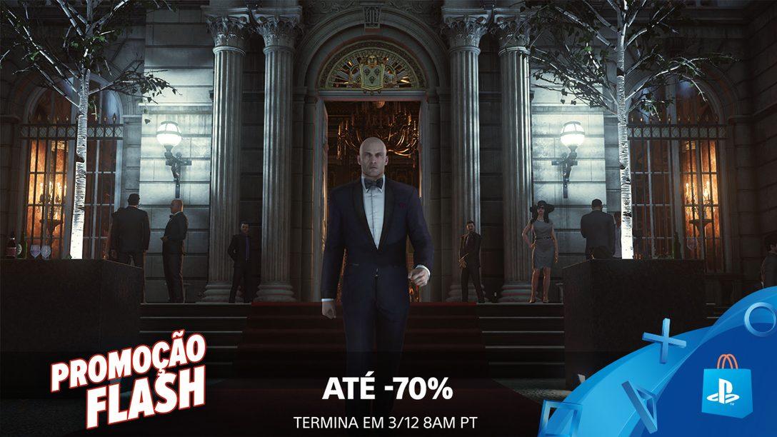 Promoção Flash! Até 70% de Desconto na PS Store