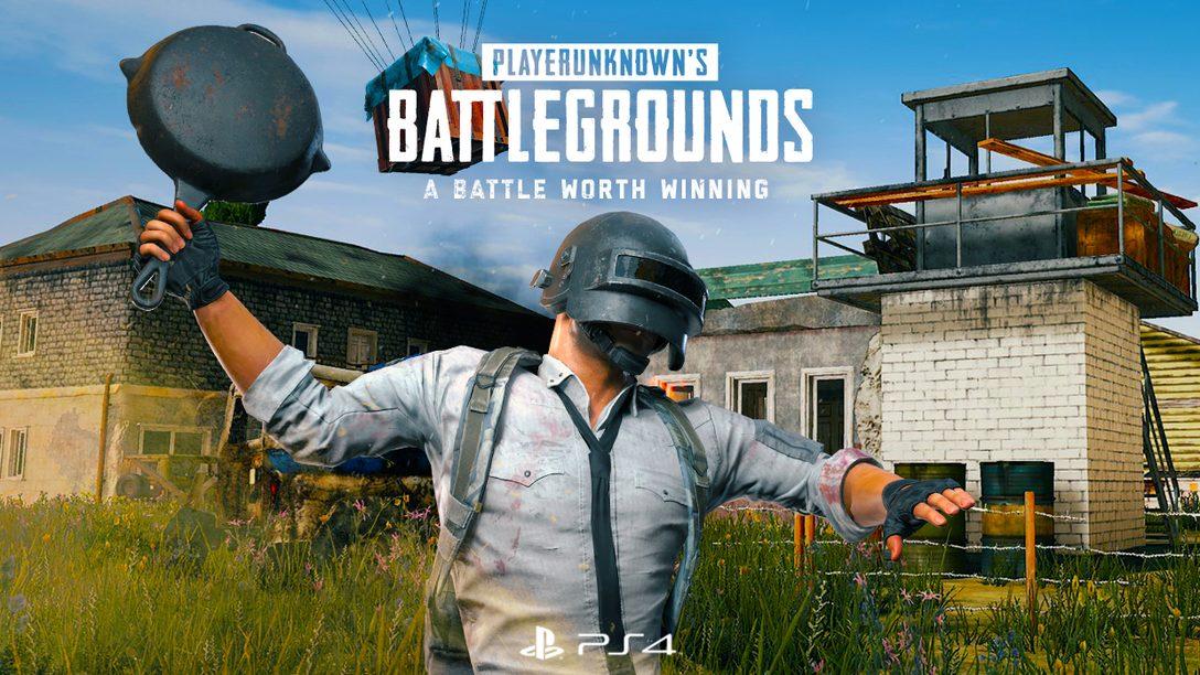 PUBG Lança em 7 de Dezembro com Brinde Exclusivo PlayStation