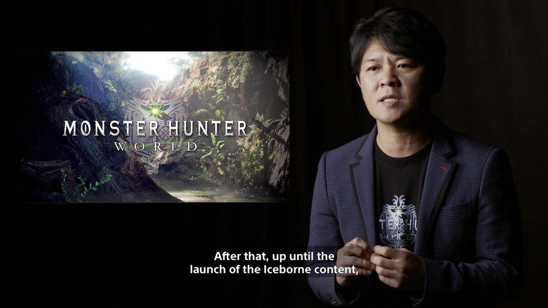 Entrevista: A Capcom Mostra os Primeiros Detalhes de Monster Hunter World: Iceborne