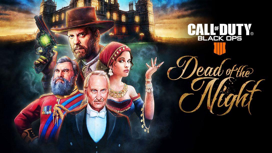 """Call of Duty: Black Ops Pass Adiciona """"Dead of Night"""", Nova Experiência Zombies"""