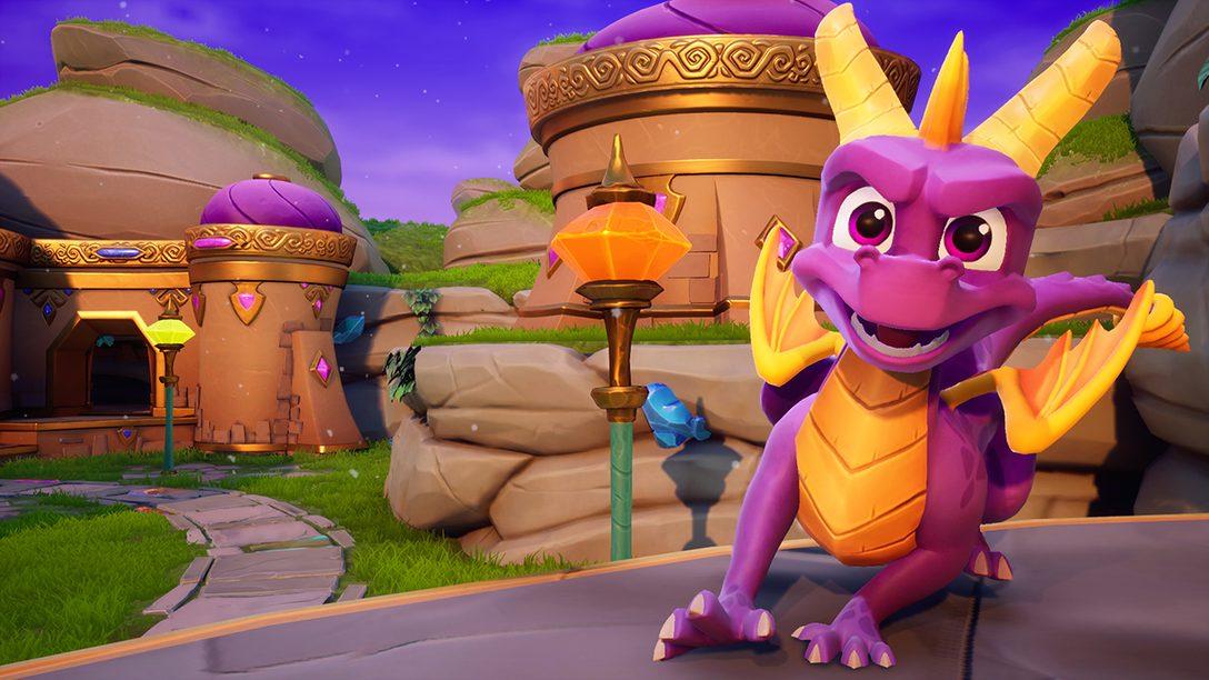 Escolha do Editor: Por que Spyro Reignited Trilogy é um dos Melhores Jogos de 2018