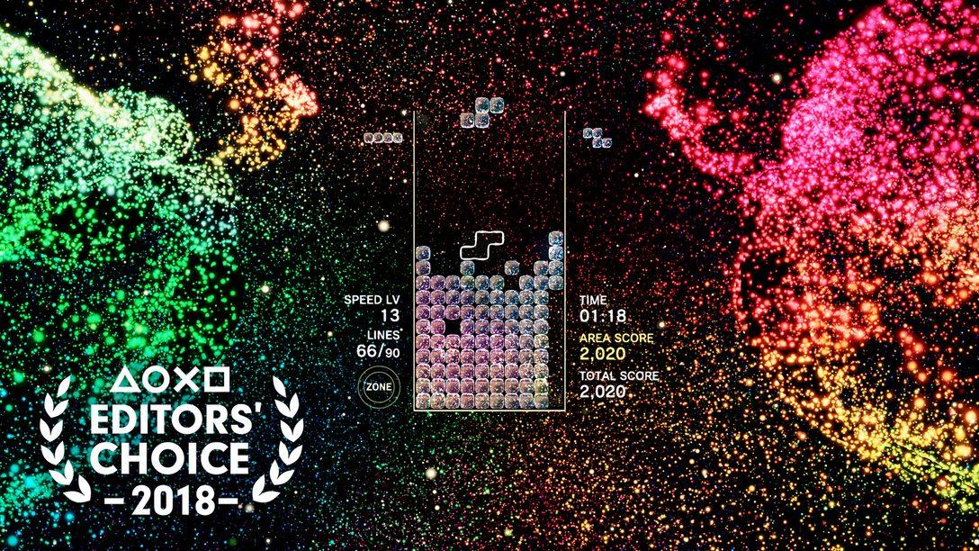 Escolha do Editor: Por que Tetris Effect é um dos Melhores Jogos de 2018