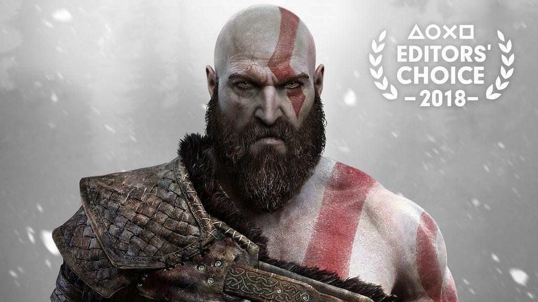 Escolha do Editor: Por que God of War é um dos Melhores Jogos de 2018