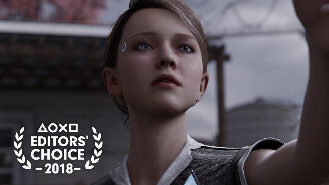 Escolha do Editor: Por que Detroit: Become Human é um dos Melhores Jogos de 2018