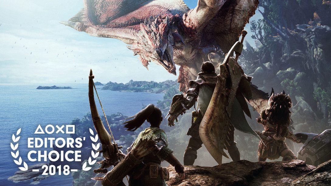 Escolha do Editor: Por que Monster Hunter World é um dos Melhores Jogos de 2018