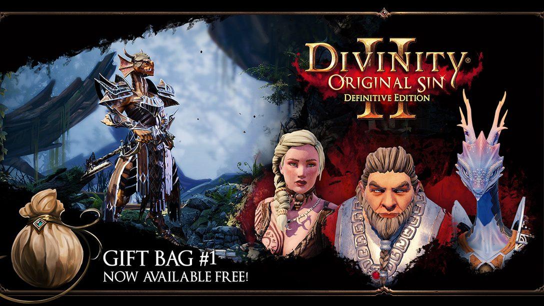 Divinity: Original Sin 2 Traz Gift Bags, Começando Hoje