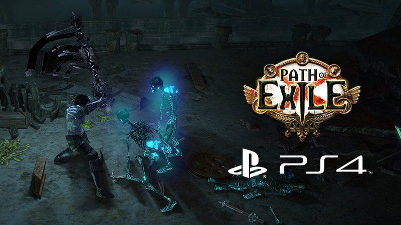 RPG de Ação Path of Exile Disponível Hoje no PS4