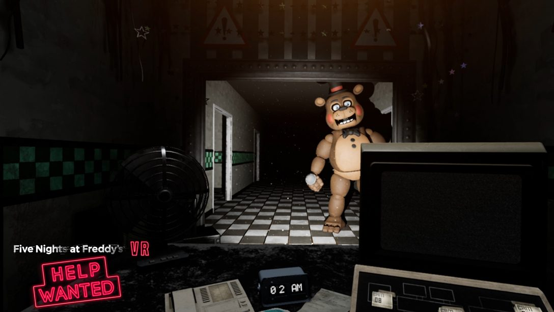 Assustadoras Primeira Impressões de Five Nights At Freddy's VR: Helped Wanted