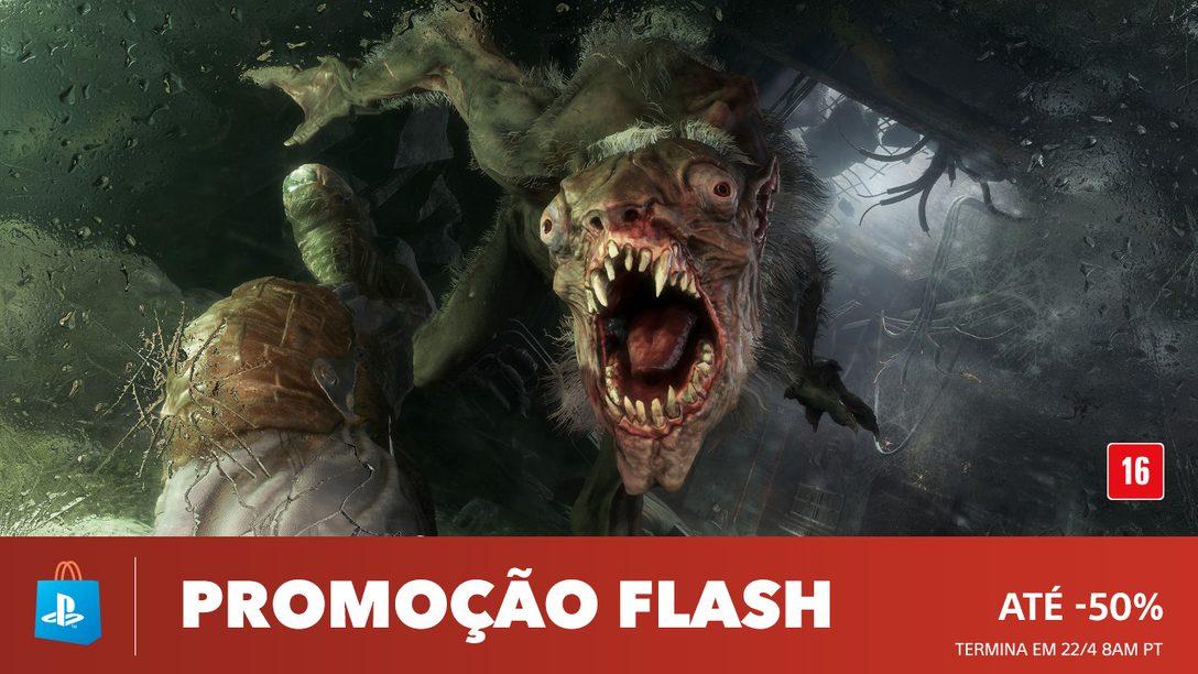 Promoção Flash: Descontos de Até 50% na PS Store