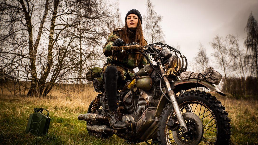 Days Gone: Recriando a Moto de Deacon na Vida Real