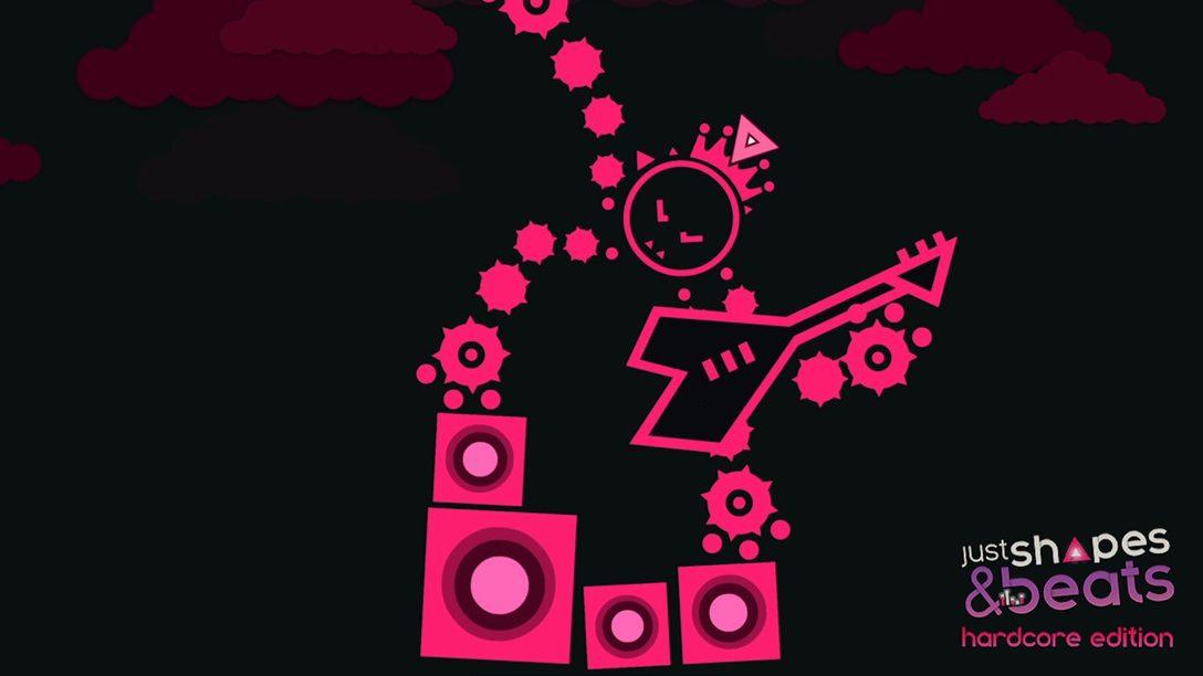Tema Radical de Just Shapes & Beats Chega para PS4 em 10 de Maio