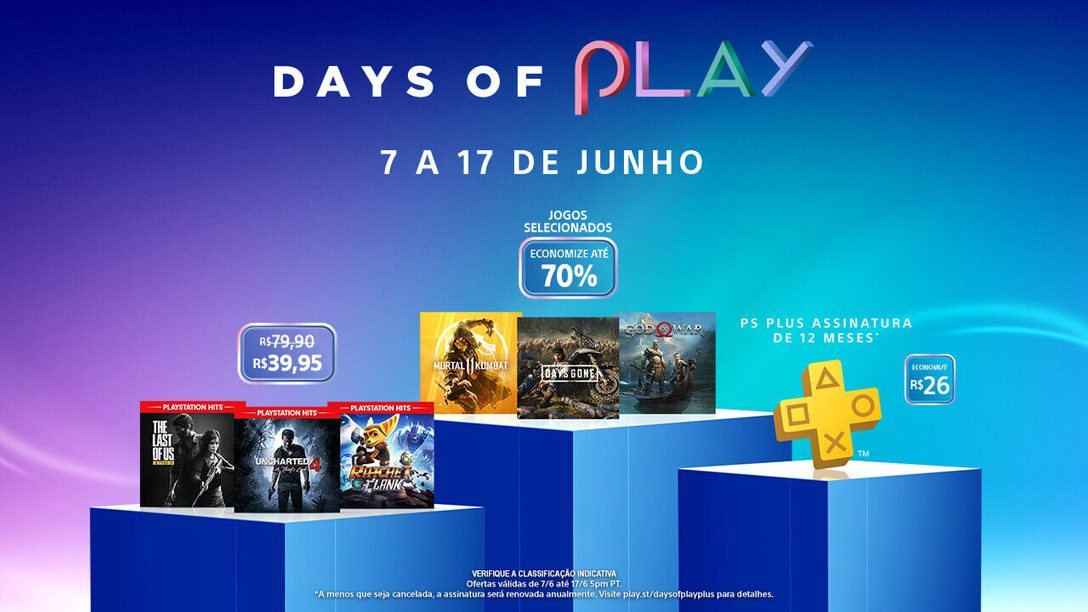 A Promoção Days of Play Chega à PlayStation Store