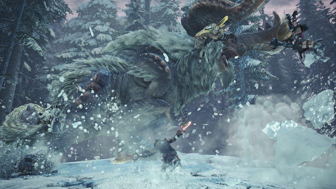8 Coisas Legais que Você Pode Fazer no Beta para PS4 de Monster Hunter World: Iceborne
