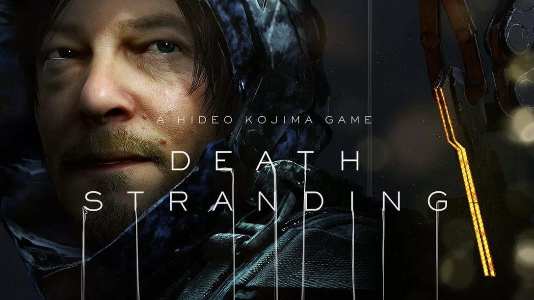 Death Stranding: Hideo Kojima Revela a Arte da Capa e Mais na SDCC